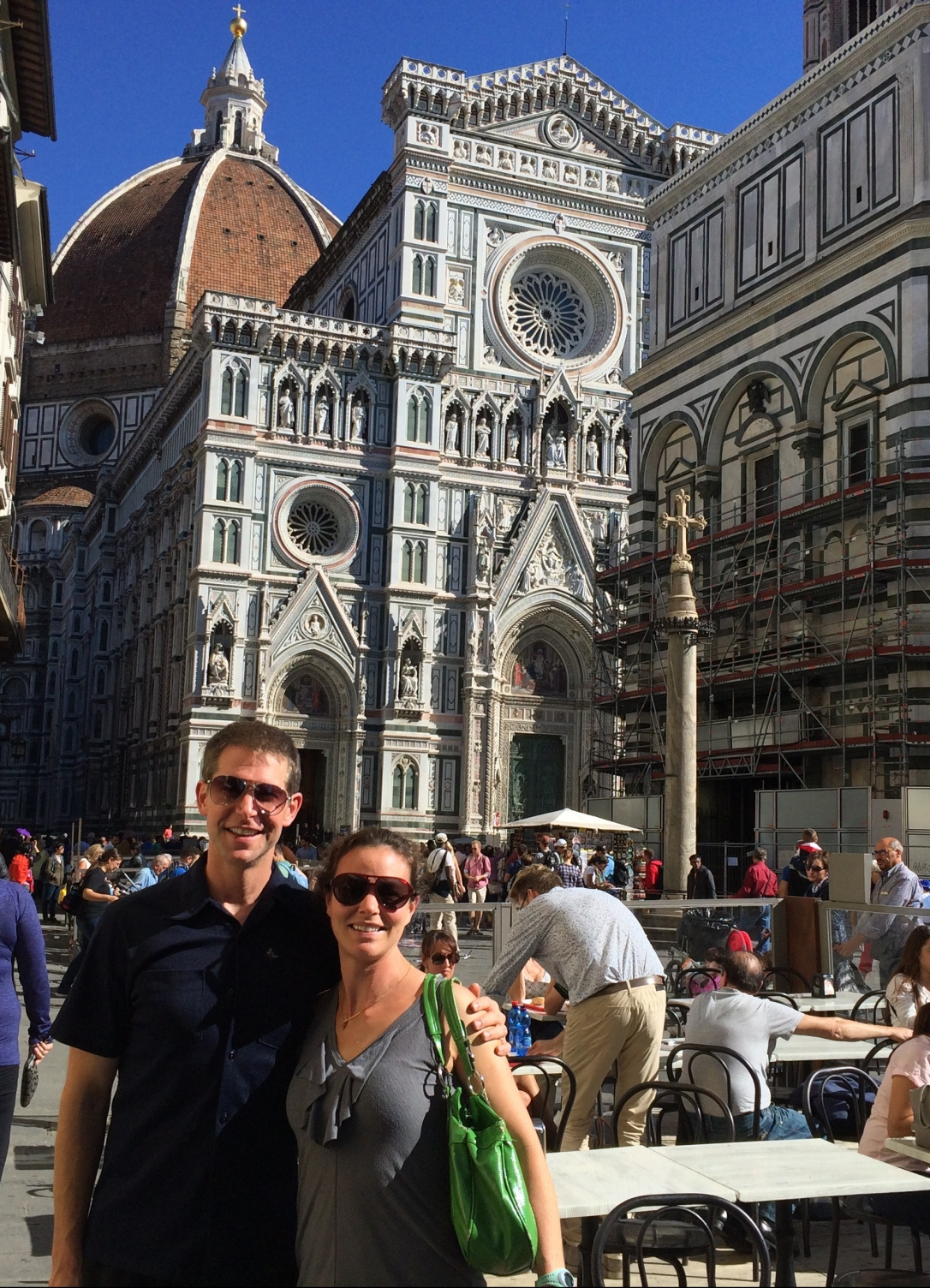 With Rob in Florence